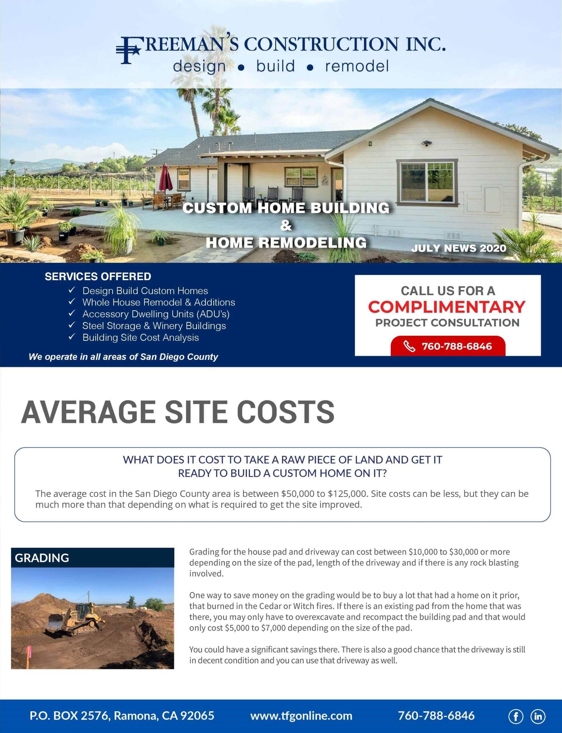 freemans-construction-inc-july-2020-newsletter-average-site-cost