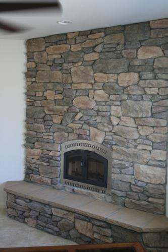 Fireplace Shadow Rock Bronze